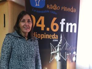Mercedes Ullod en la radio